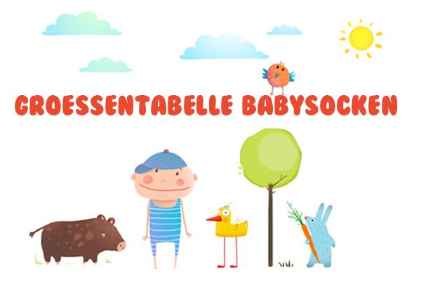 größentabelle Babysocken