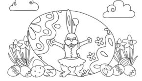 Ausmalbilder Ostern